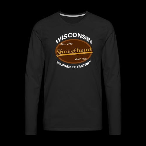 Milwaukee Shovelhead - Männer Premium Langarmshirt