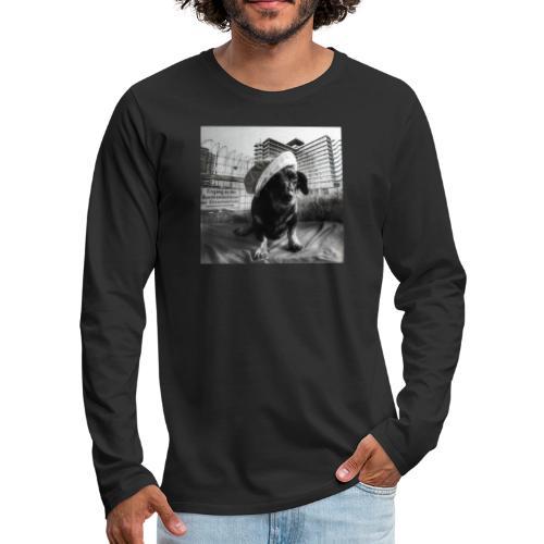 Minister Dog - Männer Premium Langarmshirt