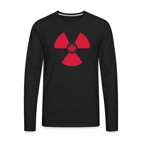 Atom! - Långärmad premium-T-shirt herr