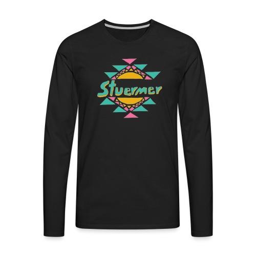 Stuermer Arizona Eistee Edition T-Shirt - Männer Premium Langarmshirt