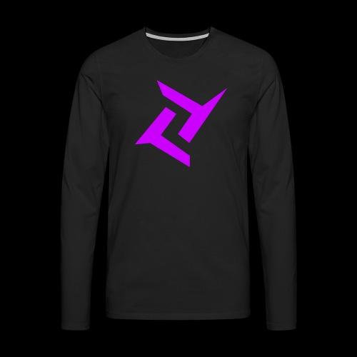 New logo png - Mannen Premium shirt met lange mouwen