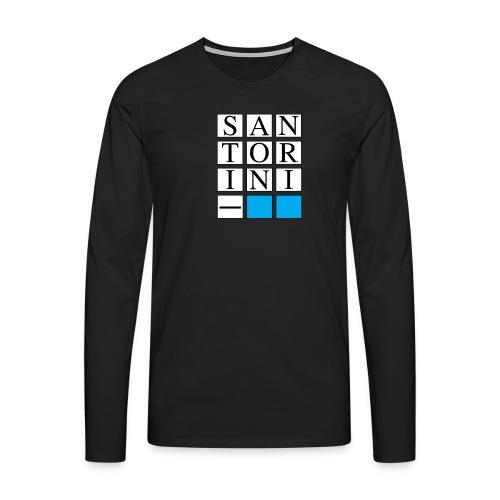 SANTORINI - Maglietta Premium a manica lunga da uomo