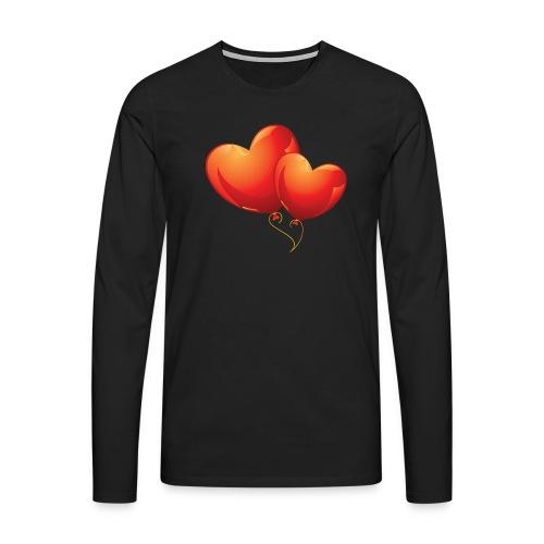 Malliot coeur - T-shirt manches longues Premium Homme
