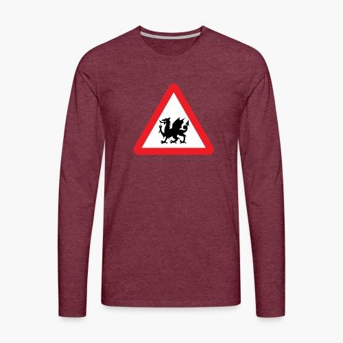 Welsh Dragon - Men's Premium Longsleeve Shirt