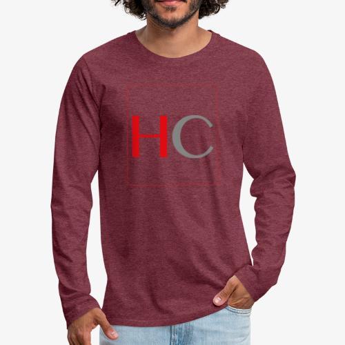 hc png - T-shirt manches longues Premium Homme