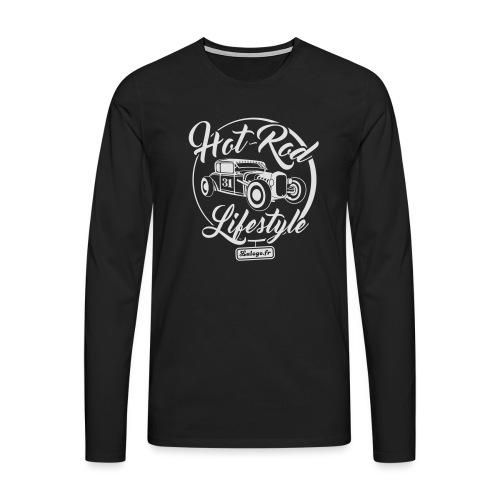 Hot-Rod Lifestyle 1 - T-shirt manches longues Premium Homme