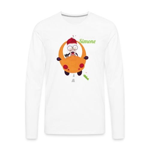 AUTOSIMONE - T-shirt manches longues Premium Homme
