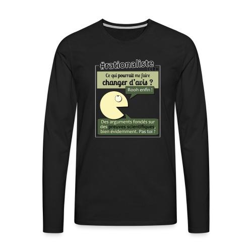 Changer d'avis ? - T-shirt manches longues Premium Homme