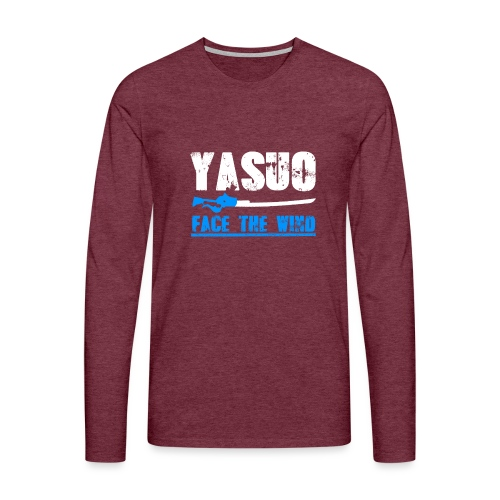 Yasuo Main - Männer Premium Langarmshirt