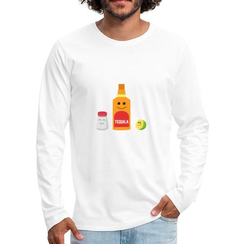 Best Friends - Tequila - Men's Premium Longsleeve Shirt