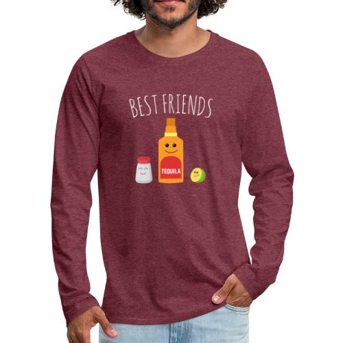 Best Friends - Tequila - Men's Premium Longsleeve Shirt