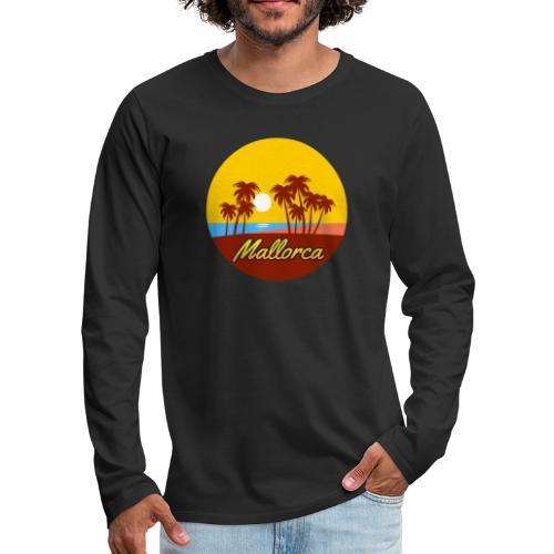 Mallorca - Als Geschenk oder Geschenkidee - Männer Premium Langarmshirt