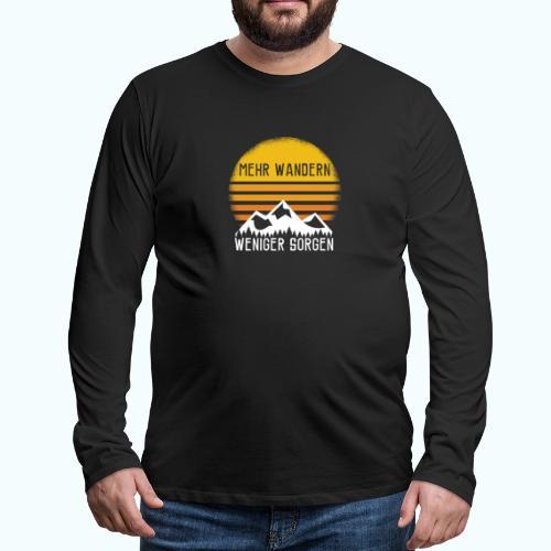 hike - Men's Premium Longsleeve Shirt