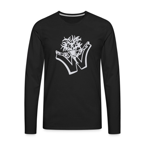 w wahnsinn - Mannen Premium shirt met lange mouwen