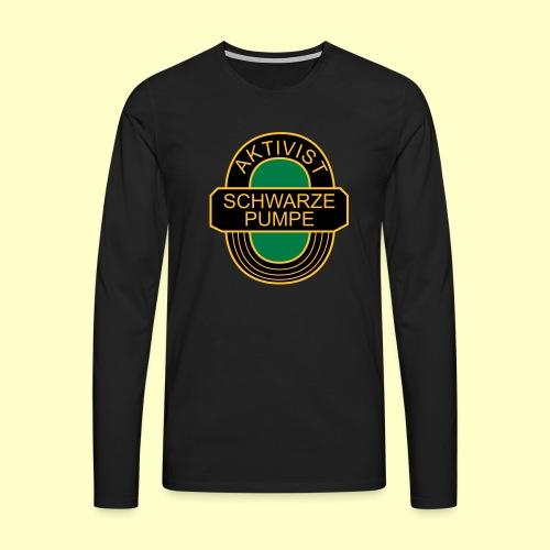 BSG Aktivist Schwarze Pumpe - Männer Premium Langarmshirt