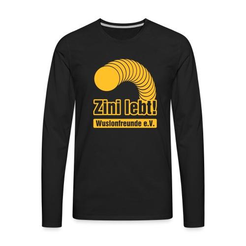 Zini lebt! - Männer Premium Langarmshirt