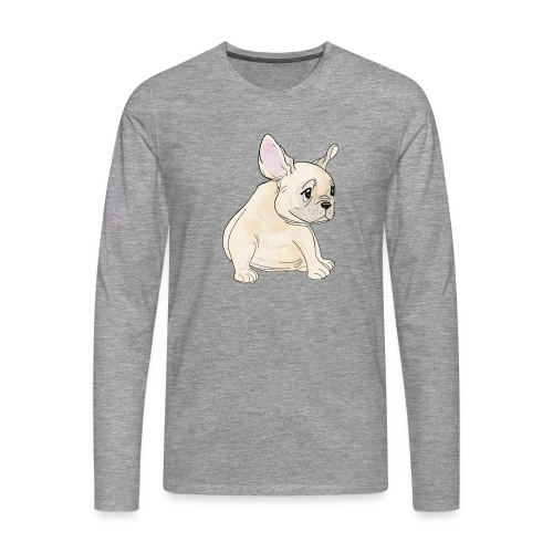 Baby Frenchie - T-shirt manches longues Premium Homme