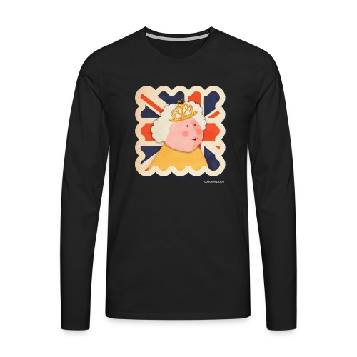 The Queen - Men's Premium Longsleeve Shirt
