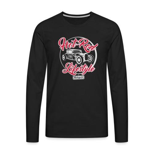 Hot-Rod Lifestyle 3 - T-shirt manches longues Premium Homme