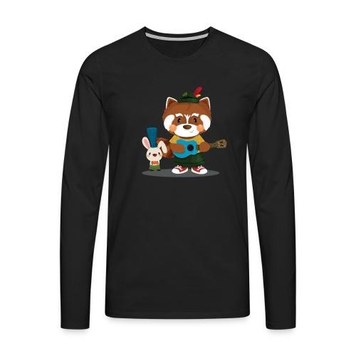 1 - T-shirt manches longues Premium Homme