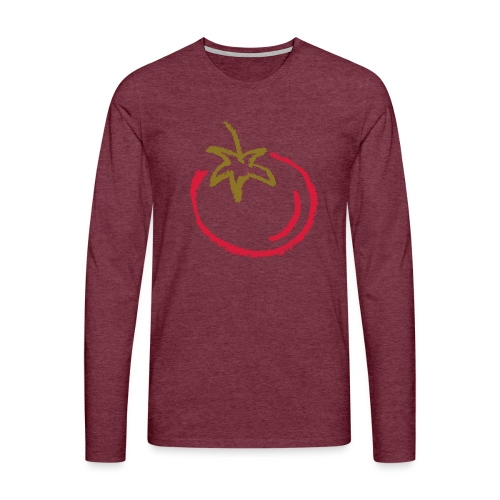 tomato 1000points - Men's Premium Longsleeve Shirt