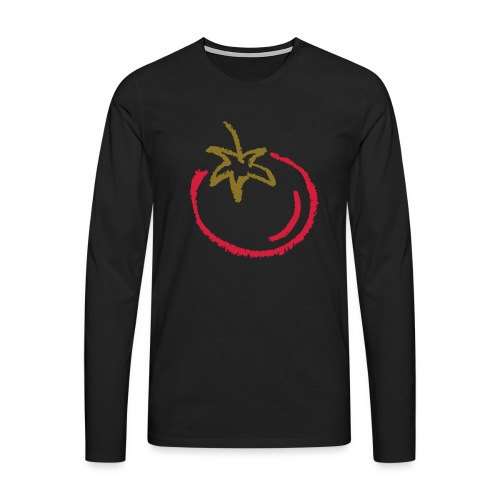 tomato 1000points - Men's Premium Longsleeve Shirt