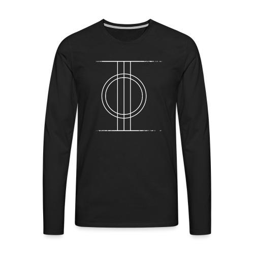 Sapmi black - Premium langermet T-skjorte for menn