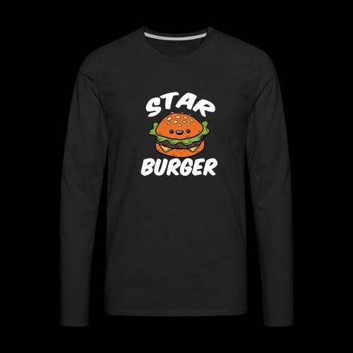 Star Burger Brand - Mannen Premium shirt met lange mouwen