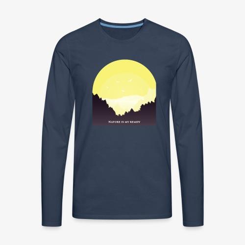 natureismyremedy - Men's Premium Longsleeve Shirt