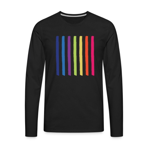 Lines - Men's Premium Longsleeve Shirt