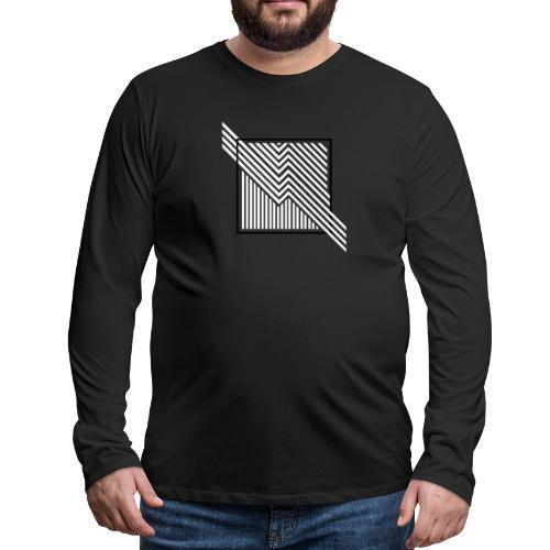 Lines in the dark - Men's Premium Longsleeve Shirt