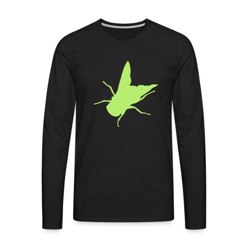 fliege - Männer Premium Langarmshirt