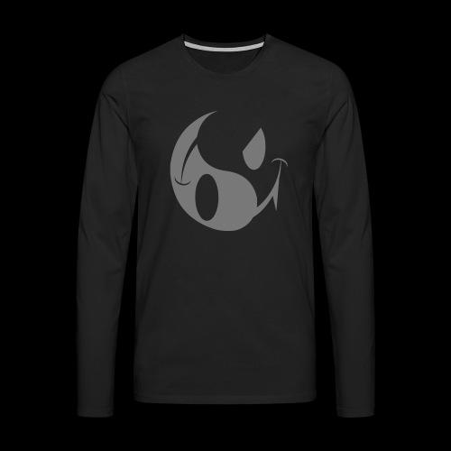 smiley yin yang - Men's Premium Longsleeve Shirt