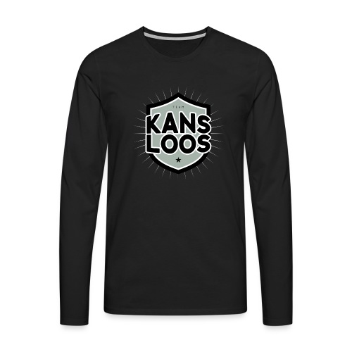 Team Kansloos - Mannen Premium shirt met lange mouwen