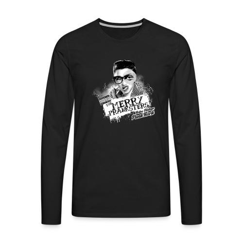 The Merry Pranksters Standard - Black T-Shirt - Men's Premium Longsleeve Shirt
