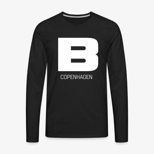BADASSCOPENHAGEN - B_CPH - Herre premium T-shirt med lange ærmer