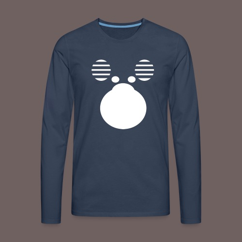 GBIGBO zjebeezjeboo - Zoo - Orignal - T-shirt manches longues Premium Homme