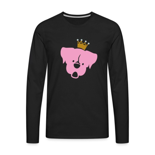 Prinz Poldi rosa - Männer Premium Langarmshirt