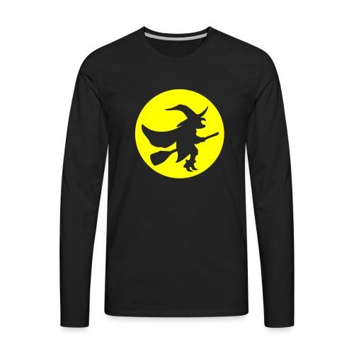 hexe_1farbig - Männer Premium Langarmshirt