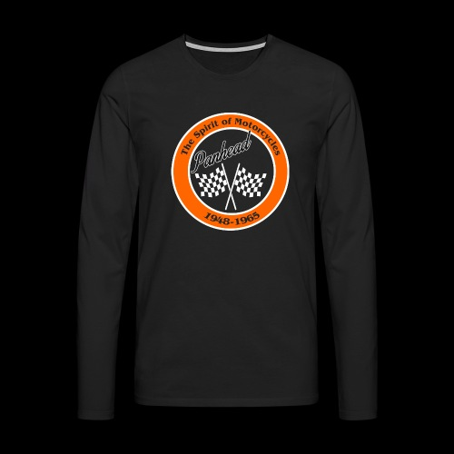 Zielflagge Panhead - Männer Premium Langarmshirt