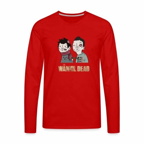 The Wankil Dead - T-shirt manches longues Premium Homme