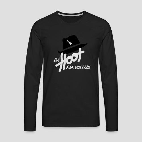 daeHoot_Shirt_Logo1_2c - Männer Premium Langarmshirt