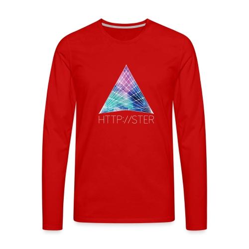 HTTPSTER - Mannen Premium shirt met lange mouwen
