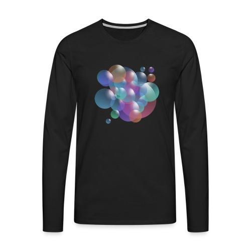 bubble - Männer Premium Langarmshirt