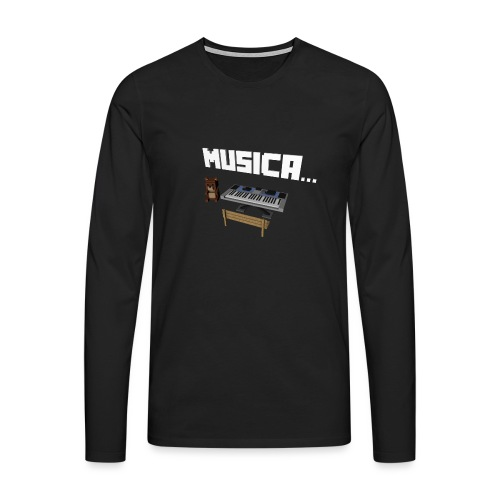 Tedy's Piano - Camiseta de manga larga premium hombre