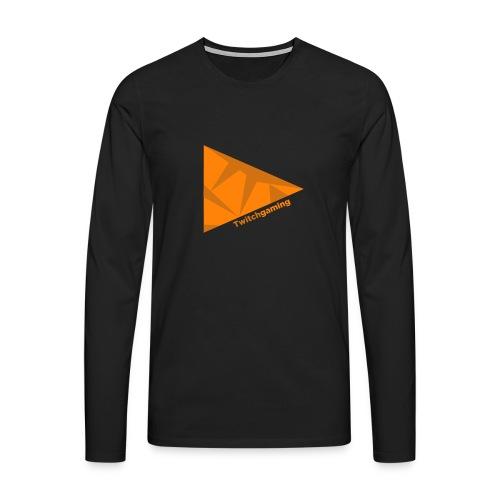 HotPans Twitchgaming Logo hinten - Männer Premium Langarmshirt