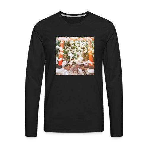 見ぬが花 Imagination is more beautiful than vi - Men's Premium Longsleeve Shirt