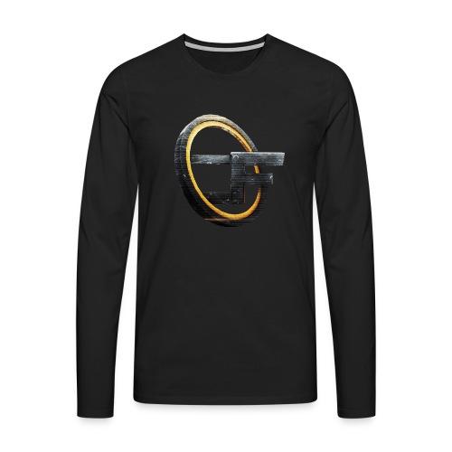 CODFATHER Logo - Männer Premium Langarmshirt