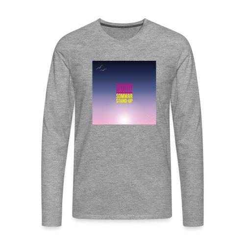T-shirt herr Skärgårdsskrattet - Långärmad premium-T-shirt herr