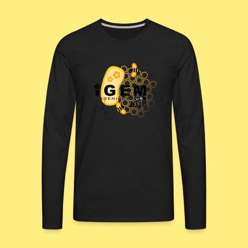 Logo - mug - Mannen Premium shirt met lange mouwen